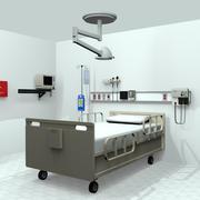 Sprzęt medyczny do sali szpitalnej 3d model