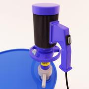 Barrel Pump - Mixer 3d model