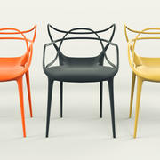 Masters Chair - Phillippe Starck 3d model