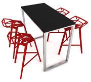 骗子一号+桌子 3d model