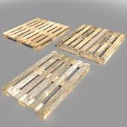 Деревянные поддоны 3d model