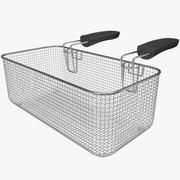 Square Fry Basket 3d model