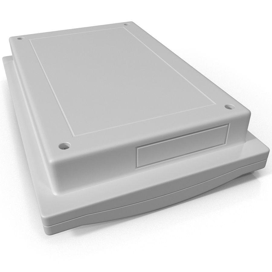 Bezprzewodowy system bezpieczeństwa PIR royalty-free 3d model - Preview no. 14