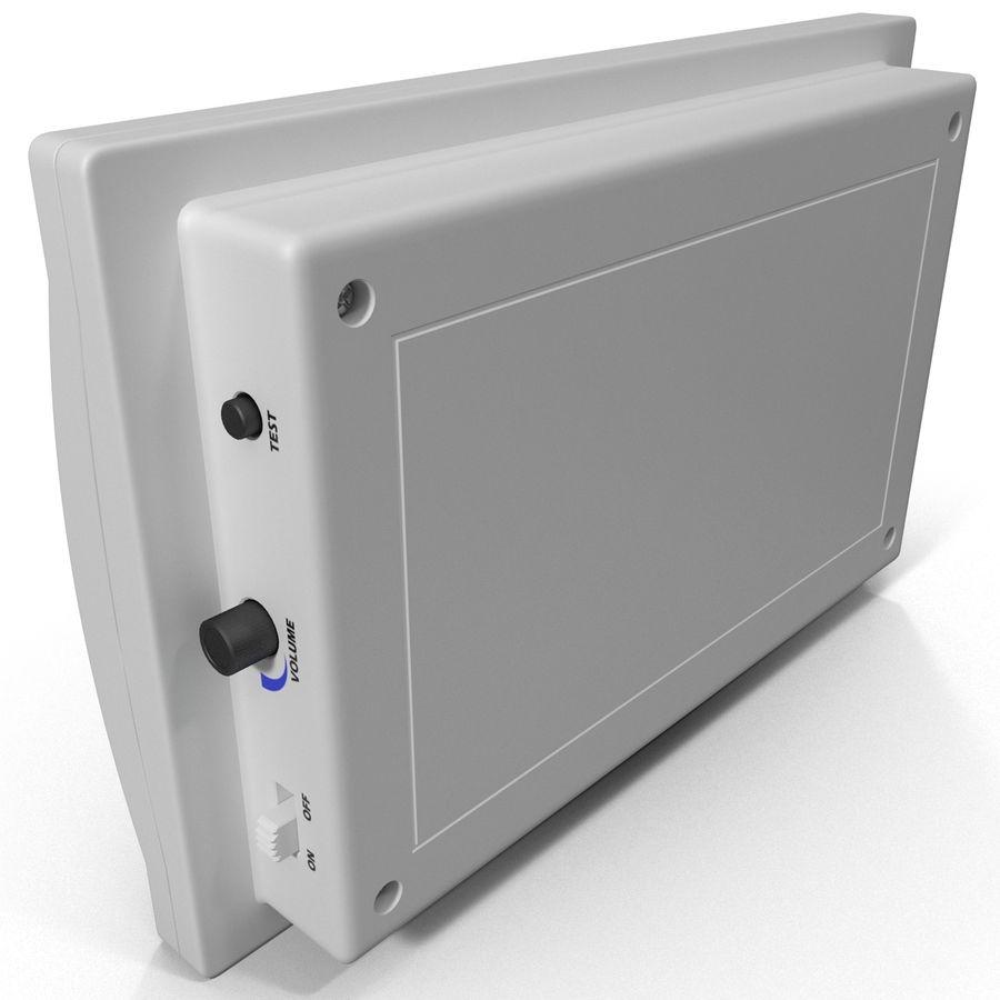 Bezprzewodowy system bezpieczeństwa PIR royalty-free 3d model - Preview no. 4