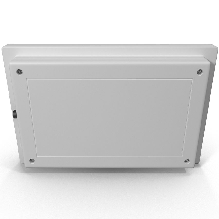Bezprzewodowy system bezpieczeństwa PIR royalty-free 3d model - Preview no. 5
