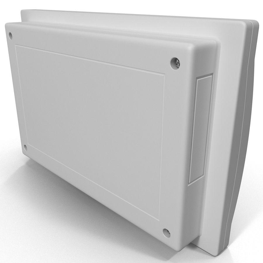 Bezprzewodowy system bezpieczeństwa PIR royalty-free 3d model - Preview no. 6
