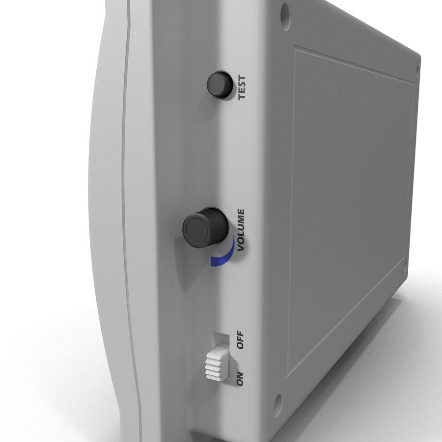 Bezprzewodowy system bezpieczeństwa PIR royalty-free 3d model - Preview no. 11