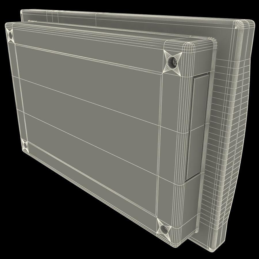 Bezprzewodowy system bezpieczeństwa PIR royalty-free 3d model - Preview no. 19