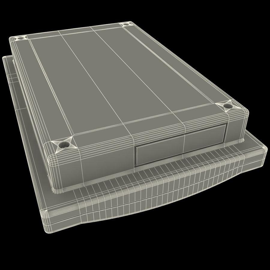 Bezprzewodowy system bezpieczeństwa PIR royalty-free 3d model - Preview no. 15