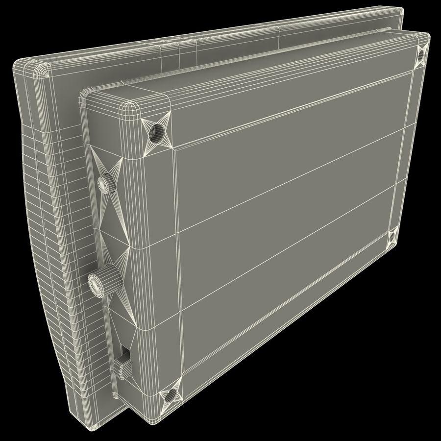 Bezprzewodowy system bezpieczeństwa PIR royalty-free 3d model - Preview no. 17