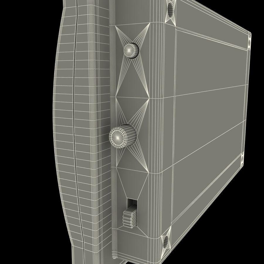 Bezprzewodowy system bezpieczeństwa PIR royalty-free 3d model - Preview no. 24
