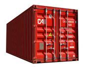 Container de carga 1 3d model