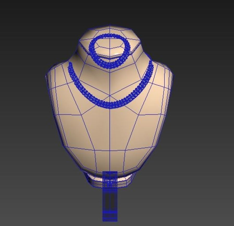 Jewelry Set royalty-free 3d model - Preview no. 12