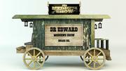 Medicine wagon 3d model
