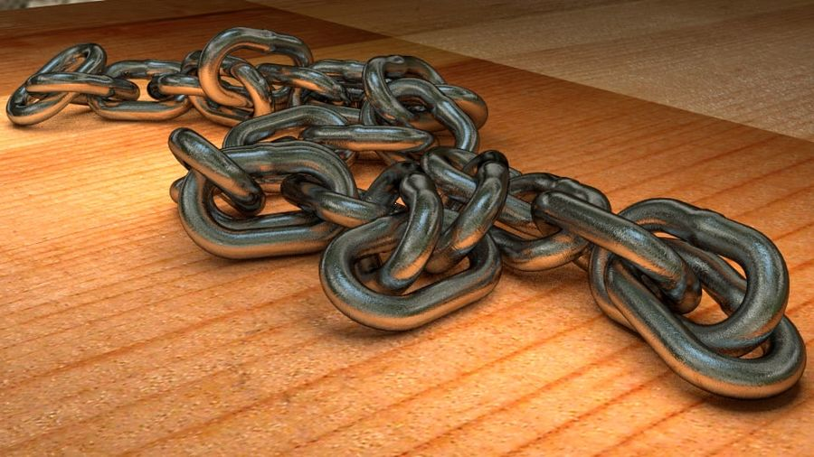 Chain royalty-free 3d model - Preview no. 2