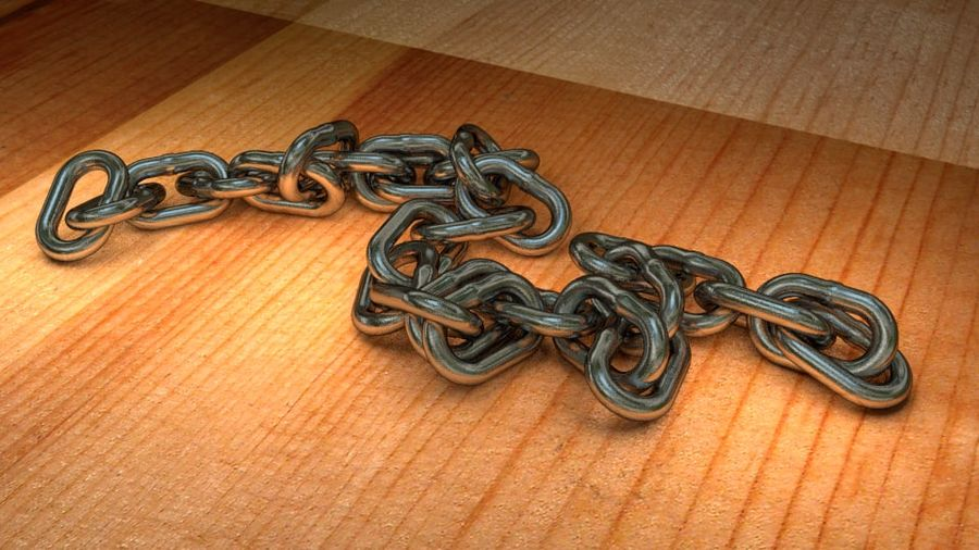 Chain royalty-free 3d model - Preview no. 3