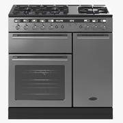 Four de cuisinière Rangemaster Hi-lite 3d model