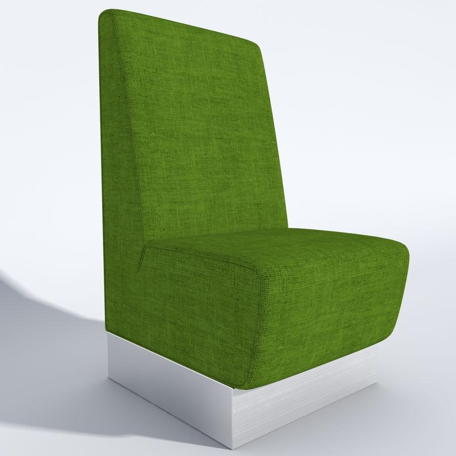 Posto a sedere Aura royalty-free 3d model - Preview no. 4