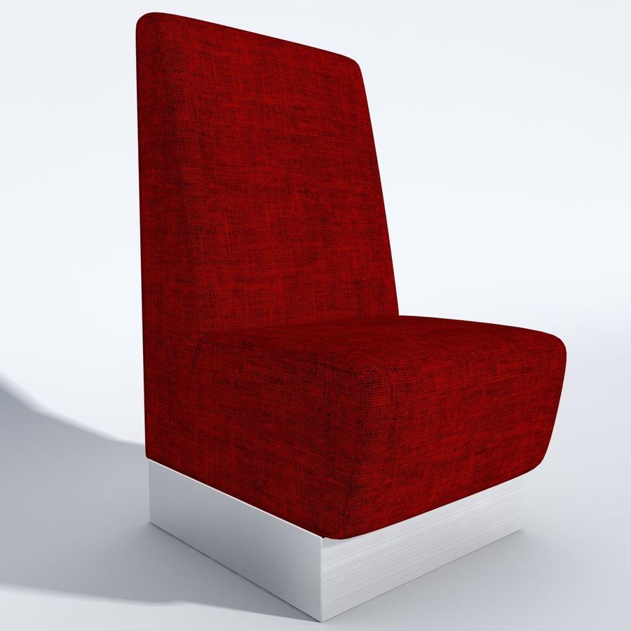 Posto a sedere Aura royalty-free 3d model - Preview no. 6