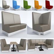 Posto a sedere Aura 3d model