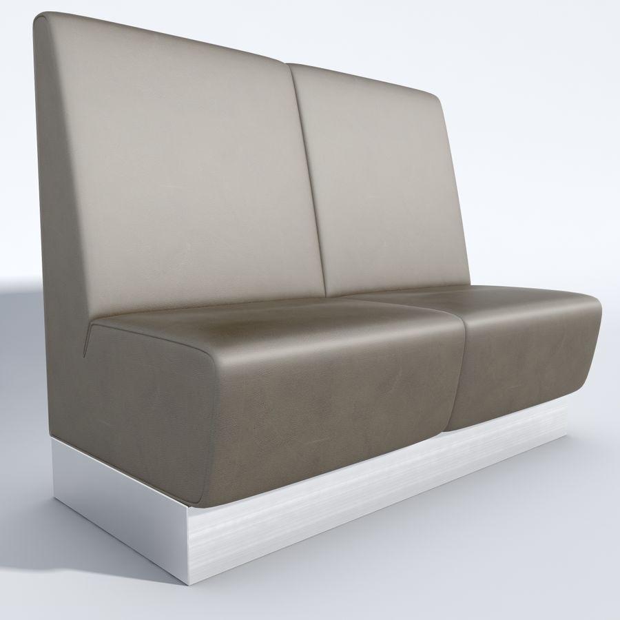 Posto a sedere Aura royalty-free 3d model - Preview no. 7