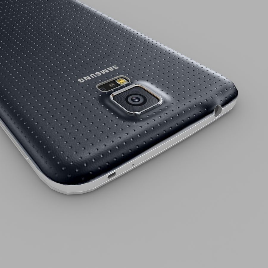 Samsung Galaxy S5 royalty-free 3d model - Preview no. 1