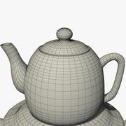 茶炊 3d model