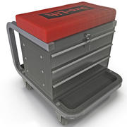 Toolbox Creeper Seat 3d model