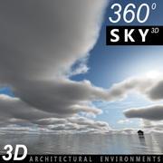 Gökyüzü 3D Günü 020 3d model