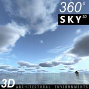 Sky 3D Day 043 3d model
