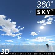 하늘 3D 날 044 3d model
