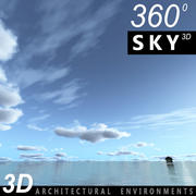 Gökyüzü 3D Günü 047 3d model