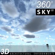 Ciel 3d jour 050 3d model