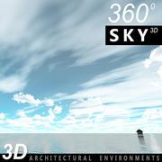 Sky 3D Day 058 3d model
