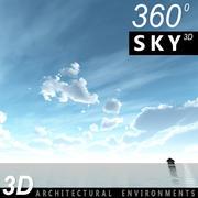 Ciel 3d jour 061 3d model