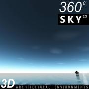Gökyüzü 3D Günü 021 3d model