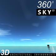 Sky 3D Day 022 3d model