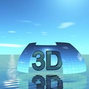 스카이 3D 데이 022 3d model