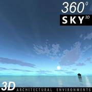 Ciel 3d jour 100 3d model