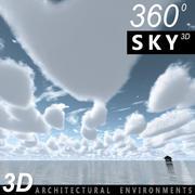 Ciel 3D Jour 101 3d model
