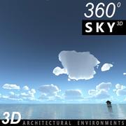Gökyüzü 3D Günü 107 3d model