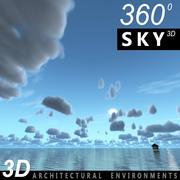 Sky 3D Day 088 3d model