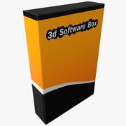 Programvarubox 3d model