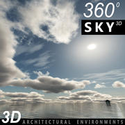 Gökyüzü 3D Günü 028 3d model
