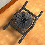CPU风扇通风冷却器鼓风机(旧) 3d model