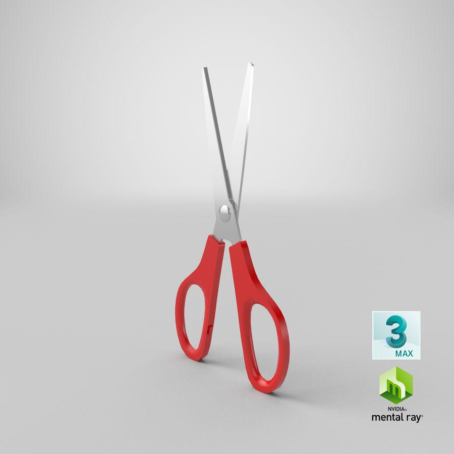剪刀 royalty-free 3d model - Preview no. 18