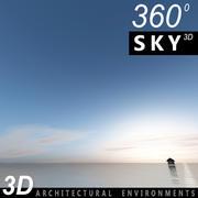 Ciel 3d jour 091 3d model
