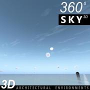Gökyüzü 3D Günü 093 3d model