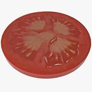 Sliced Tomato 3d model