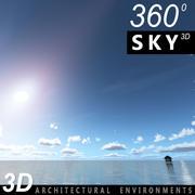 Gökyüzü 3D Günü 015 3d model